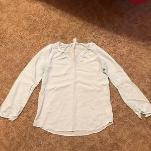 Old Navy Light Blue Blouse